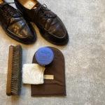 コードバンの革靴の磨き方 (デイリーケア編)