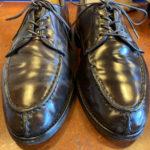 コードバンの革靴の磨き方 (スペシャル編)