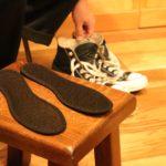 靴の中から消臭・除湿